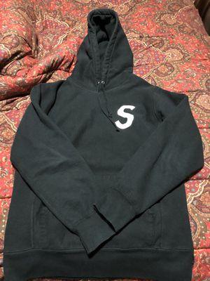 Supreme Tonal Logo S Hoodie Size Medium for Sale in Troy, MI