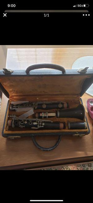 G Valletta clarinet for Sale in Milwaukee, WI