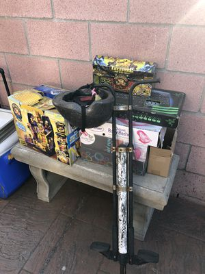 Large quantity of toys, games, riding bikes toys, nerf toys, board games, figurines etc etc for Sale in Pico Rivera, CA