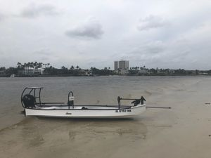 Gheenoe brand new barely used with new trailer and trolling motor. No motor. Email or text me. for Sale in West Palm Beach, FL