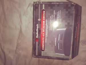 2 in 1 out composite AV selector switch for Sale in Wichita, KS