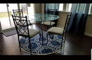 4 Piece Iron Dining Table for Sale in Fort Mill, SC