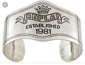 Designer Replay Unisex Stainless Steel Bracelet for Sale in Orlando, FL