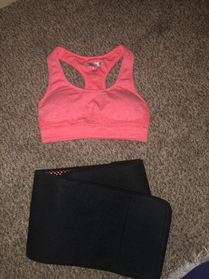 Forever 21 sports bra and workout wrap for Sale in Goodyear, AZ