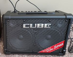 PRS Guitar SE with cube street Ex Amp and guitar lessons for Sale in Wood Village, OR