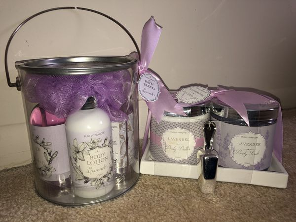 Lavender Bath Treats