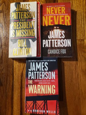 James Patterson Paperback Books $3 each for Sale in Portland, OR