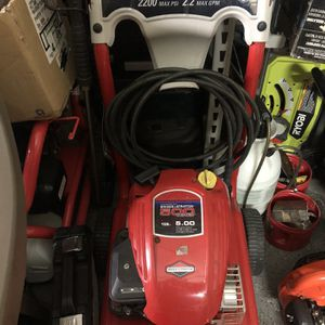 2200psi POWER WASHER for Sale in St. Louis, MO