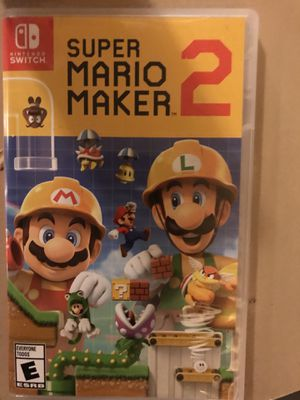 Super Mario maker 2 pay for the game $59 least can do $30 for Sale in Las Vegas, NV