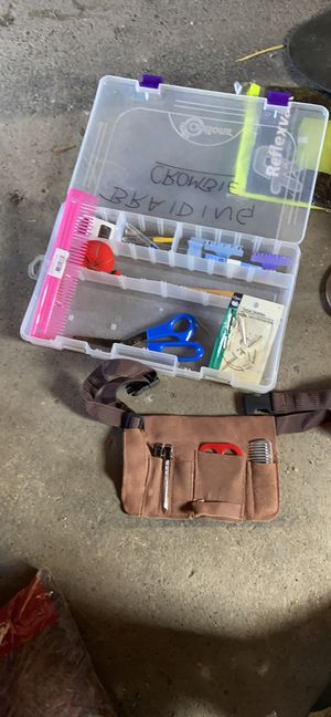 Horse braiding kit for Sale in Rochester, NY