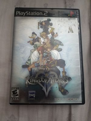 Kingdom hearts 2 for the ps2 for Sale in Pittsburg, CA