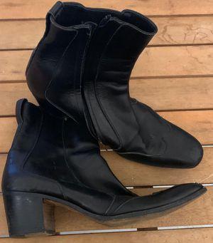Yves st Laurent black boots 42 for Sale in Oakland Park, FL