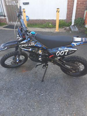 Apollo 125cc 4 up Manual Dirtbike for Sale in Darnestown, MD