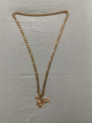 14K real gold chain with Eagle pendant for Sale in City of Industry, CA