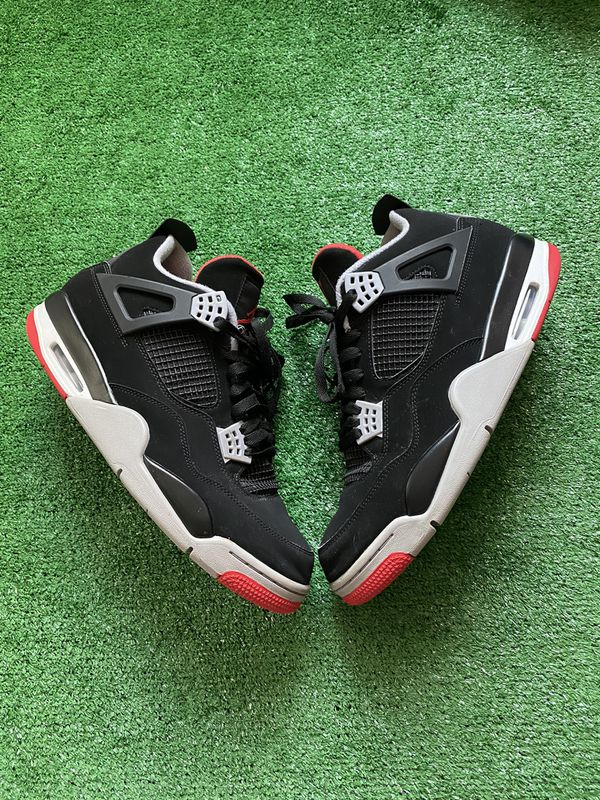 Bred 4's size 13