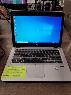 "HP EliteBook 820 G3 12.5"" Laptop i7 2.60GHz 8GB RAM 256GB SSD Webcam WiFi Bluetooth Windows 10 Pro for Sale in Medina, OH"