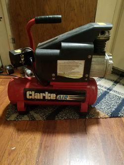 Clarke air compressor for Sale in Oregon City,  OR