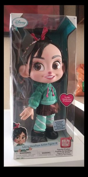 Ralph wrecks the internet= Talking Vanellope doll for Sale in Glendale, AZ