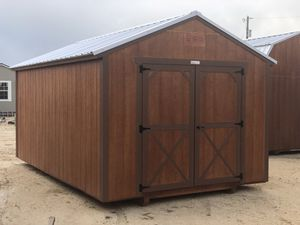 10x16 Utility Shed-Storage Shed-Portable Storage Buildings for Sale in Austin, TX