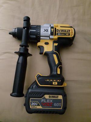 Dewalt 1/2 Drill with Flexvolt battery (New) for Sale in Atlanta, GA