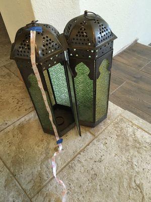 Candle holder set for Sale in Riverside, CA