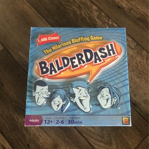 Balderdash Board Game New for Sale in Vancouver, WA