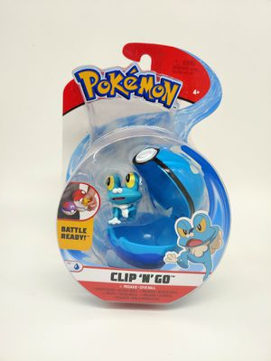 Pokemon Clip N Go Froakie + Dive Ball for Sale in Rodeo, CA