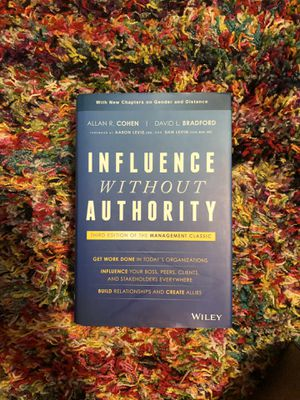 Influence Without Authority book for Sale in Richmond, KY