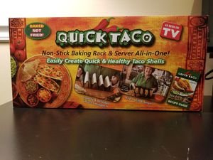 Quick Taco Non-Stick Backing Rack and Server for Sale in Saint Charles, MO