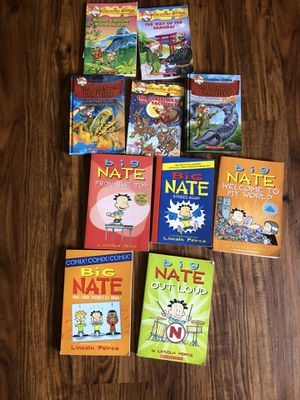 Big Nate and Geronimo Stilton BOOKS for Sale in Wethersfield, CT