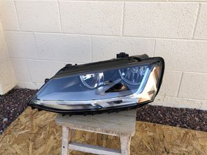 2011 - 2018 VW Jetta OEM headlight, driver side, headlamp, front light, LED, front bumper cover, car parts, auto parts for Sale in Glendale, AZ