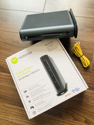 Motorola MG7315 Wireless Router - Cable Modem for Sale in Los Angeles, CA