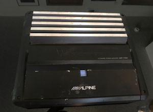 Alpine 4channel amp for Sale in Brockton, MA
