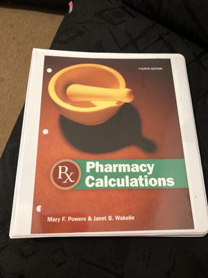 Pharmacy Calculations for Sale in Chicago, IL