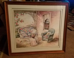 """""""The Porch Swing"""" signed painting by Paula Vaughan for Sale in West Jordan, UT"""