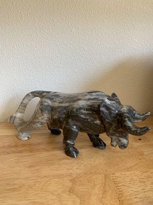 Marble bull decor for Sale in Marysville, WA