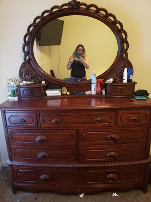 Solid wood dresser for Sale in Murfreesboro, TN
