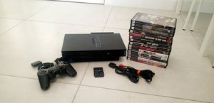 Ps2 Fat in Great condition with games for Sale in Miami, FL