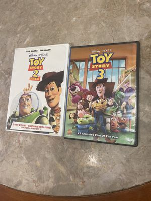 Toy Story Movies (Trilogy) $10 for Sale in Apache Junction, AZ