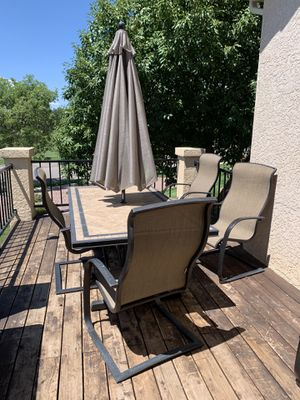 Patio set -great condition for Sale in PUEBLO DEP AC, CO