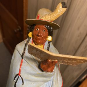Native American Indian Sculpture for Sale in Mount Joy, PA