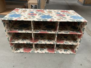 """Shoe rack. Holds at least nine pairs of shoes. 26"""" x 16"""" x 13"""" for Sale in Stockton, CA"""