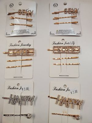 Hair clips $2 for Sale in Los Angeles, CA