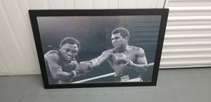 Ali-Fazier framed poster for Sale in Long Beach, CA