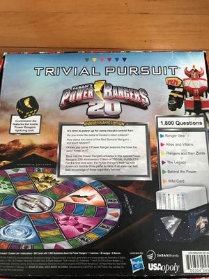 Power Rangers Board Game! for Sale in Quincy, MA