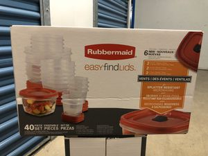 Rubbermaid Easy Find Lids for Sale in San Jose, CA