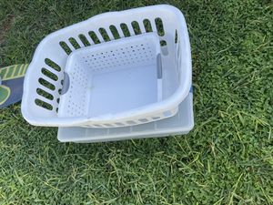 Laundry basket storage containers for Sale in Norwalk, CA