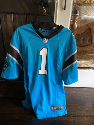 Cam Newton NFL Jersey (large) for Sale in Matthews, NC