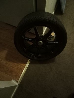 No longer have a Honda vehicle the rims was spray painted black but no longer want them for Sale in Hartford, CT