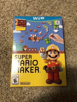 Super Mario Maker - Wii U for Sale in Tulsa, OK